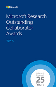 Outstanding Collaborator Award Booklet