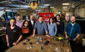Researchers in the Microsoft Research Redmond lab