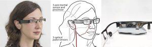 Glabella Blood Pressure Sensing Glasses. Under the Hood components.