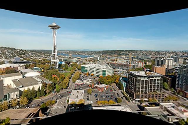 'The Seattle Gigapixel Art Zoom' Artist in Residence exhibit