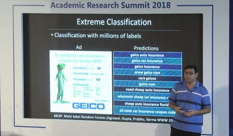 Extreme Classification - New Paradigm for Ranking and Recommendation
