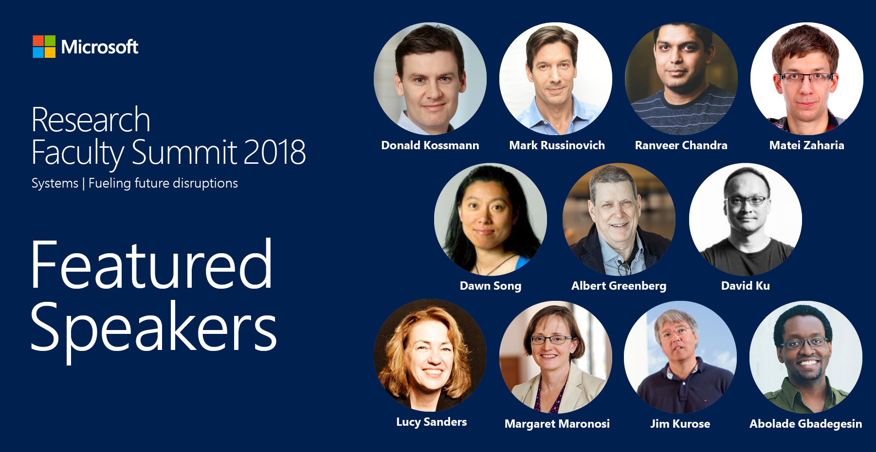 2018 Microsoft Research Faculty Summit Online Event