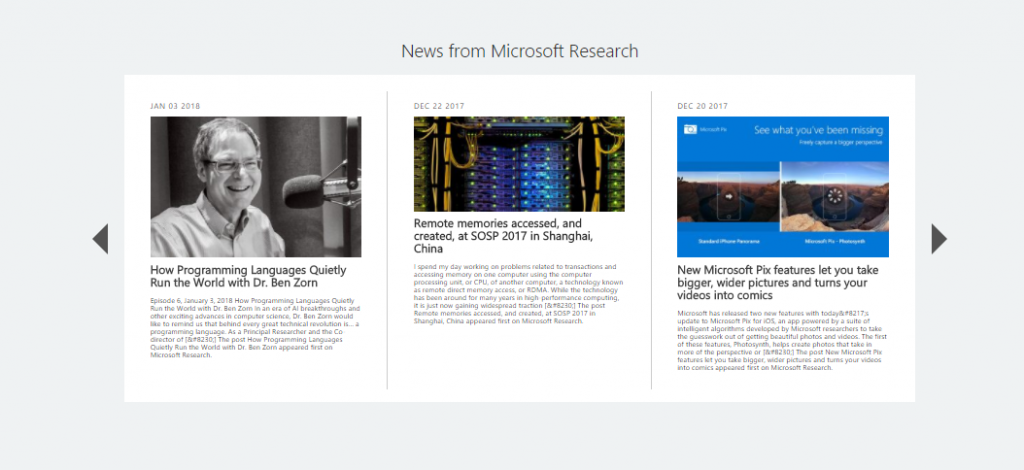 Surprising New Findings On Academic >> New Year New Homepage For Microsoft Academic Microsoft Research