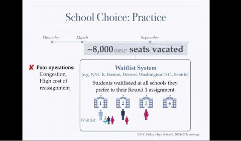 Dynamic Matching in School Choice: Efficient Seat Reassignment after Late Cancellations