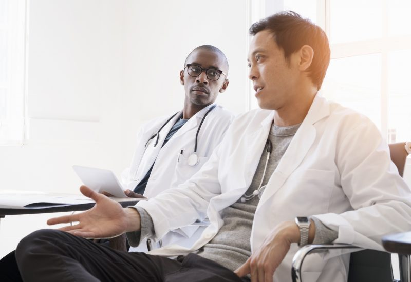 Learning from doctors