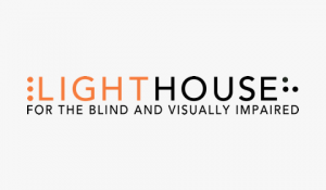 The Lighthouse for the Blind and Visually Impaired logo