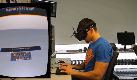 Text Entry in Immersive HMDisplay-based VR using Physical and Touch Keyboards
