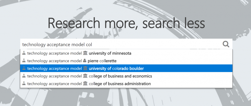search box screenshot