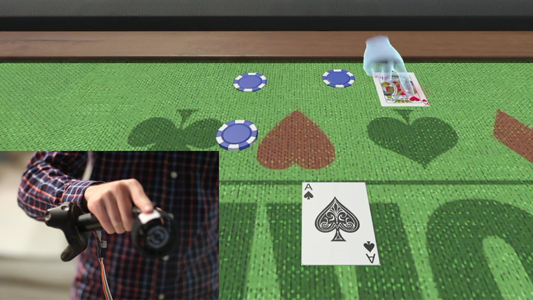 Touching the Virtual: How Microsoft Research is Making Virtual Reality Tangible