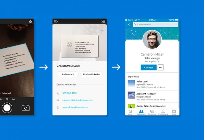 Microsoft Pix's AI gets even smarter, Business Card feature works with LinkedIn to make it easier than ever to manage your contacts