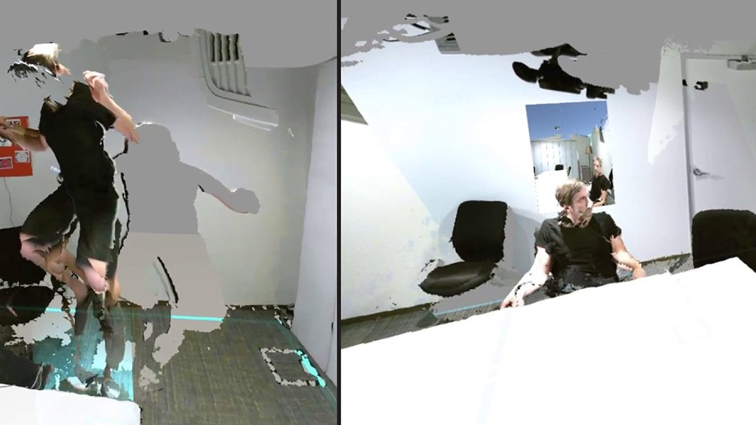 Manipulating space and time in mixed reality