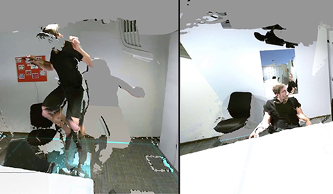 Image attached to Manipulating Space and Time in Mixed Reality
