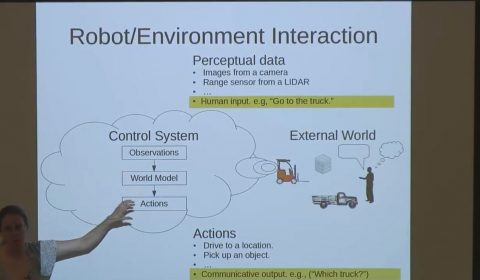 Learning Models of Language, Action and Perception for Human-Robot Collaboration