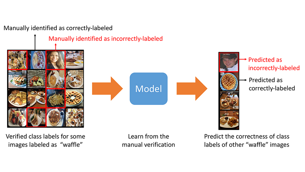 Using transfer learning to address label noise for large-scale image classification