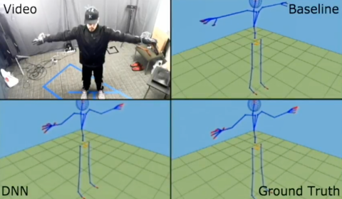 Image associated with Pose tracking with wearable and ambient devices