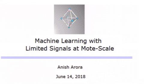 Microsoft Research Summer Workshop 2018: Machine Learning on