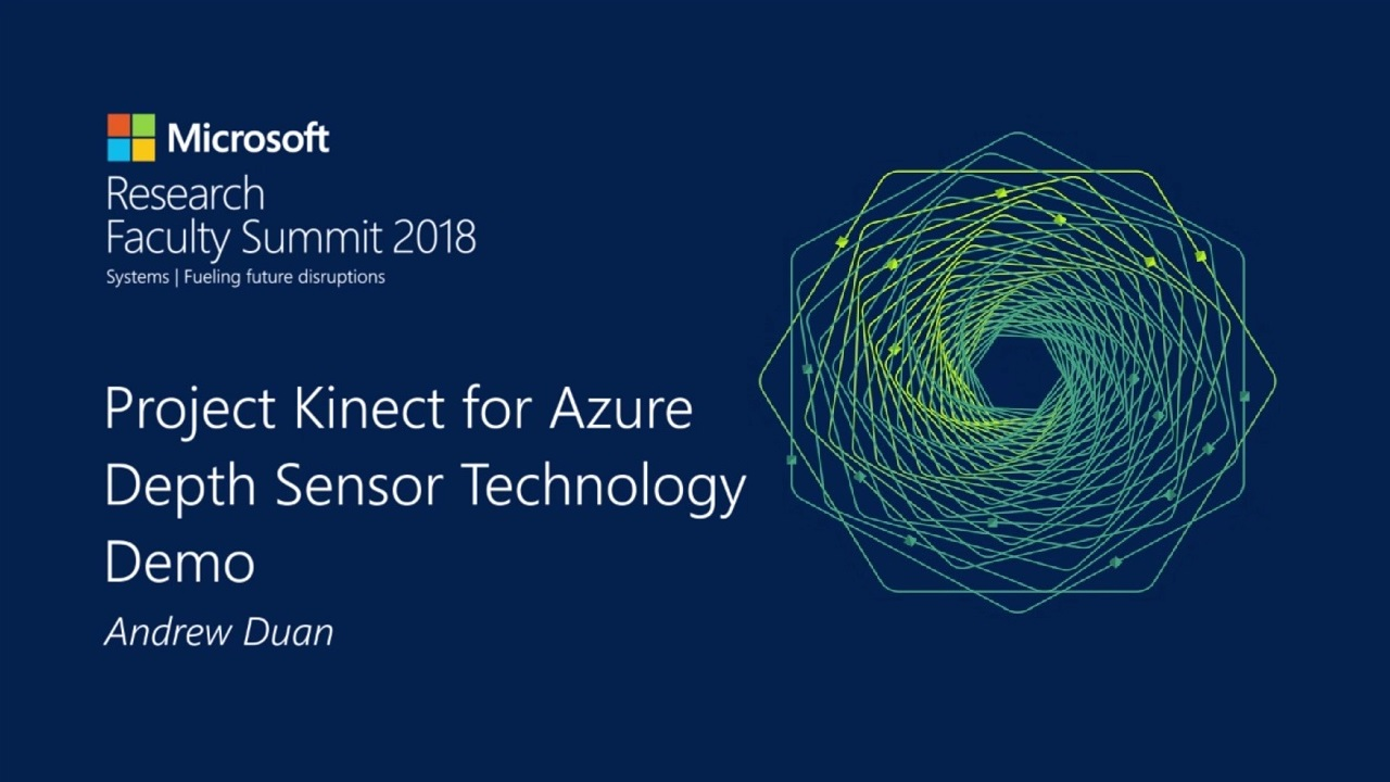 Tech Showcase: Project Kinect for Azure depth sensor