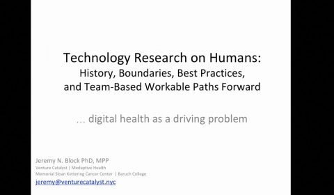 Technology Research on Humans STILL