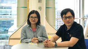 Bei Liu and Jianlong Fu of Microsoft research