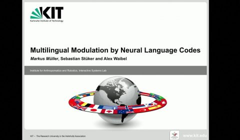 Multilingual Modulation by Neural Language Codes