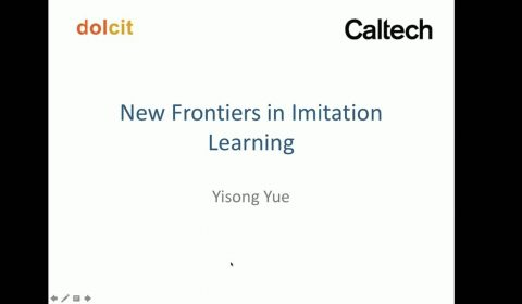 New Frontiers in Imitation Learning