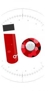 Icon: blood sample