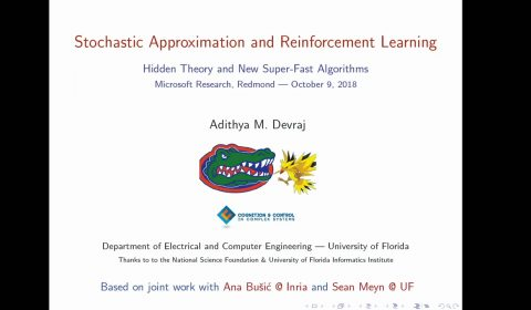 Stochastic Approximation and Reinforcement Learning: Hidden Theory and New Super-Fast Algorithms