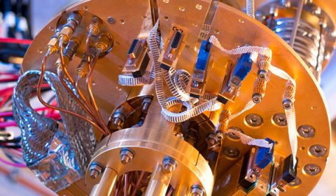 Image of quantum computer components