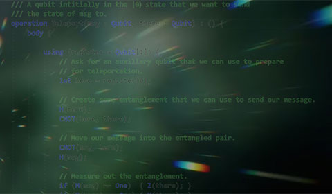 screenshot of source code on computer screen