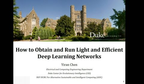 How to Obtain and Run Light and Efficient Deep Learning Networks