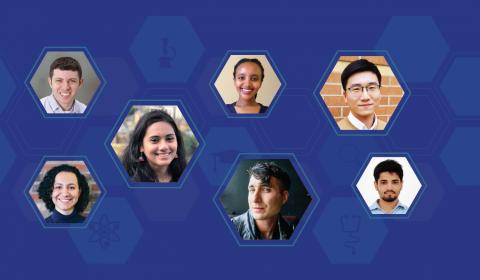 Head shots of select 2019 Ada Lovelace and Phd Fellowship winners
