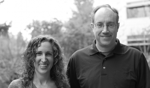 Image associated with CHI squared with Dr. Ken Hinckley and Dr. Meredith Ringel Morris