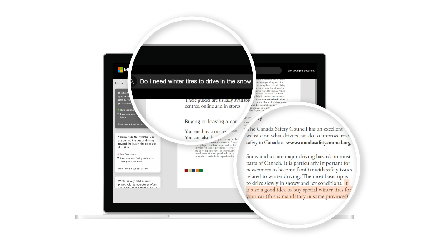 Bringing the power of machine reading comprehension to specialized