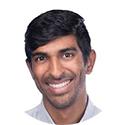 Portrait of Akshay Kristhnamurthy