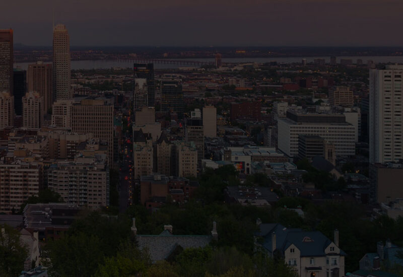 Skyline of Montreal