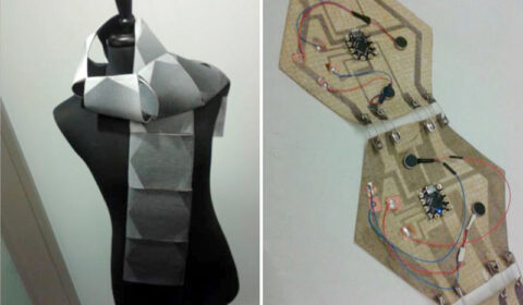 Image attached to SWARM: An Actuated Wearable for Mediating Affect