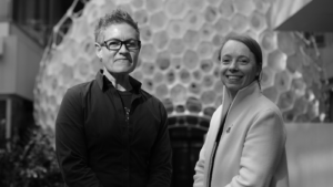 Jenny Sabin and Asta Roseway on the Microsoft Research podcast