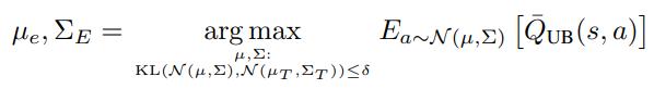 exploration policy formula