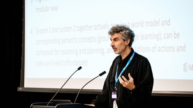 Yoshua Bengio presentation at MSR & Mila Workshop 2019