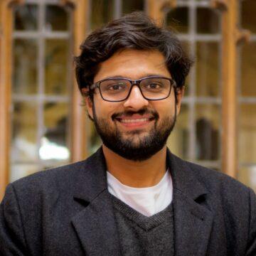 """Portrait of Dhruv """"DJ"""" Jain"""