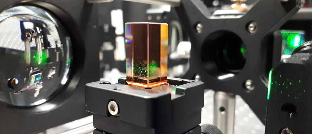 Image showing holographic storage lab