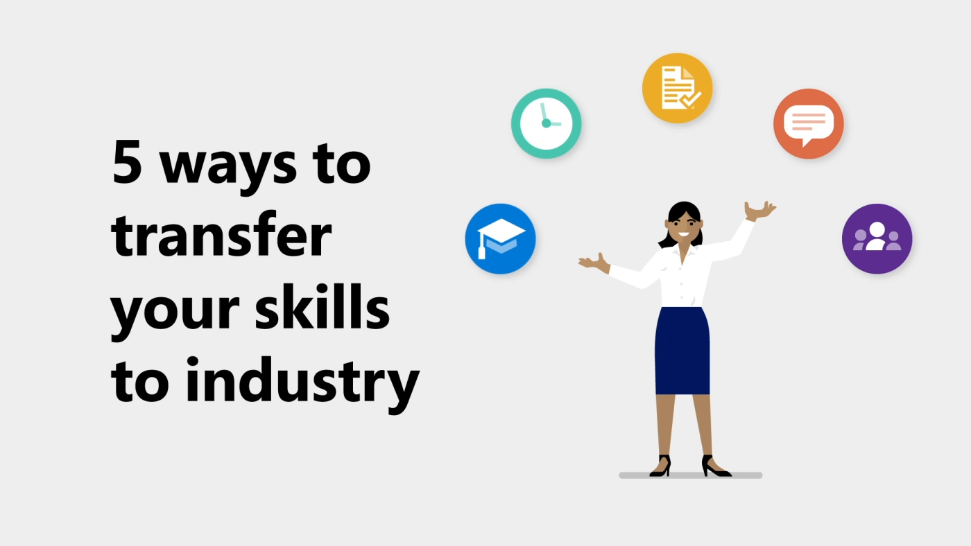 Five ways your academic research skills transfer to industry