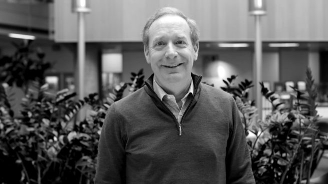 headshot of Microsoft President Brad Smith for the Microsoft Research Podcast
