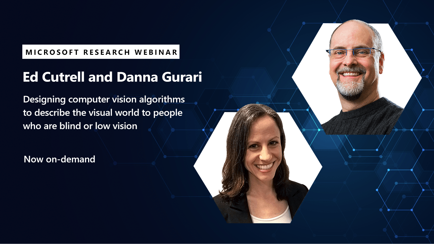 Ed and Danna's webinar on computer vision