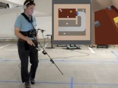 Bringing virtual reality to people who are blind with an immersive sensory-based system