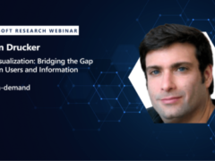 Webinar: Data Visualization: Bridging the Gap Between Users and Information