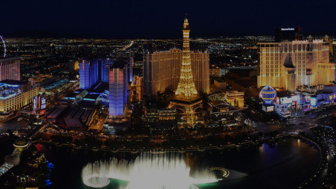 photo of the Las Vegas Strip at night