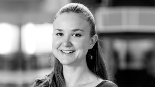 head shot of Danielle Bragg for the Microsoft Research Podcast