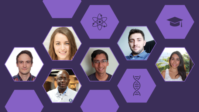 collage of 2020 EMEA and LATAM PhD Award winners