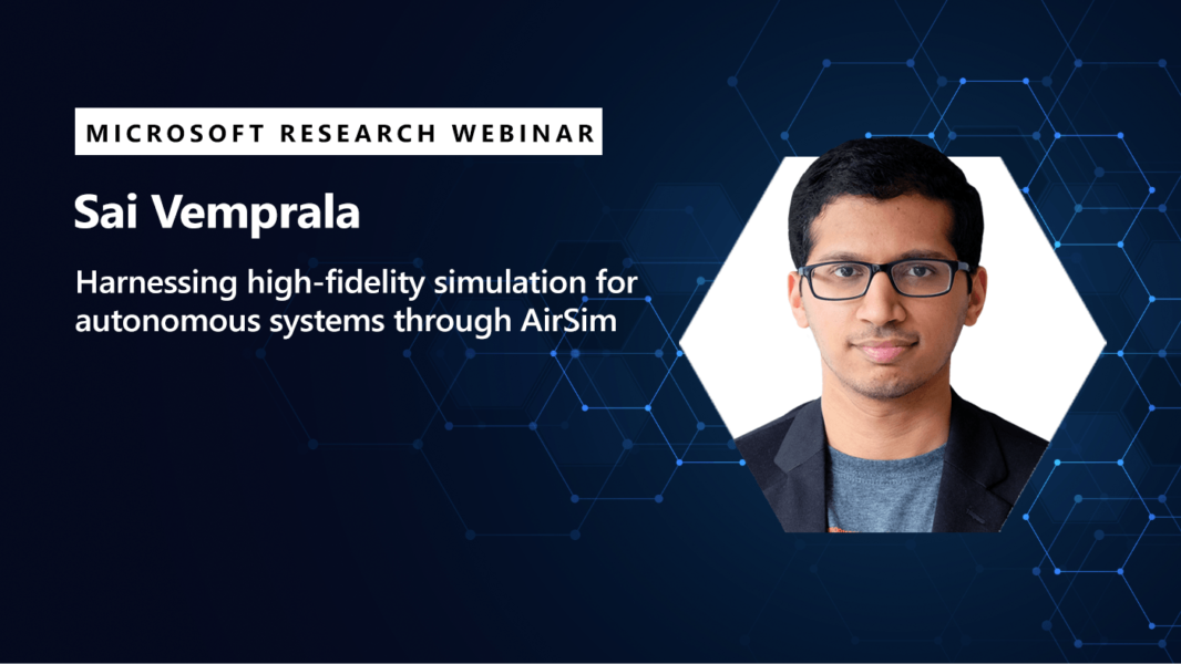 An image of Sai promoting his webinar on July 9, 2020